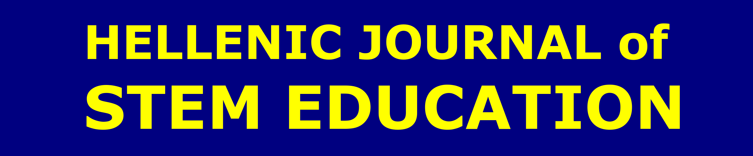 Hellenic Journal of STEM Education